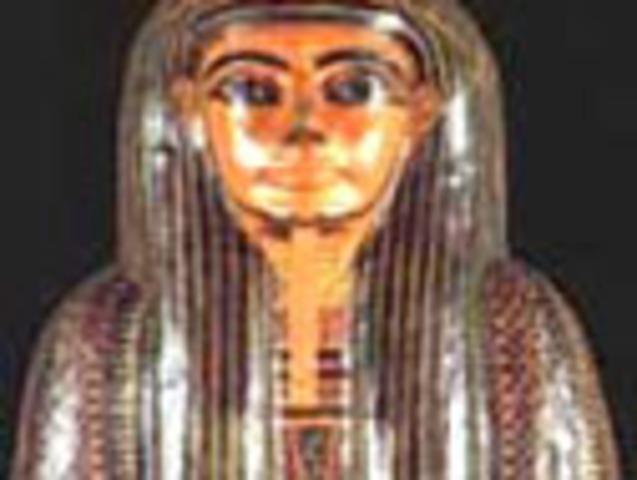 The Mummy-mask of Amenemopet