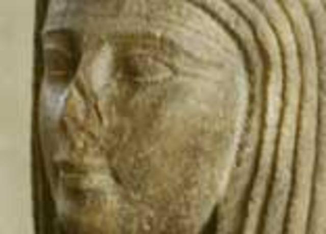 The temple/Tomb of king Mentuhotep 2 at Deir El-Barhari