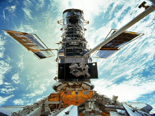 Lançamento do Telescópio Hubble