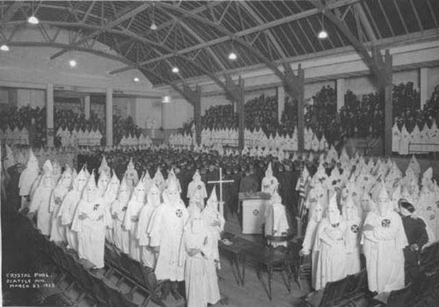 Ku Klux Klan Collapse