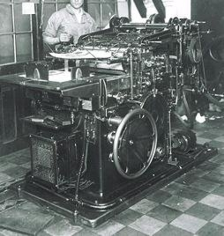 Perfeccionamiento de la prensa de imprimir de vapor.