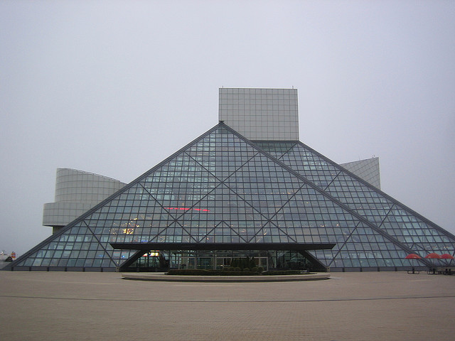 Rock and Roll Hall of Fame and Museum Opens