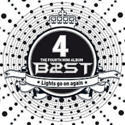 """BEAST opened up the preorder sales for their 4th mini-album named """"Lights Go On Again"""""""