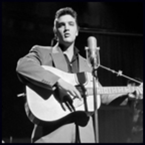 Elvis' first appearance on the television