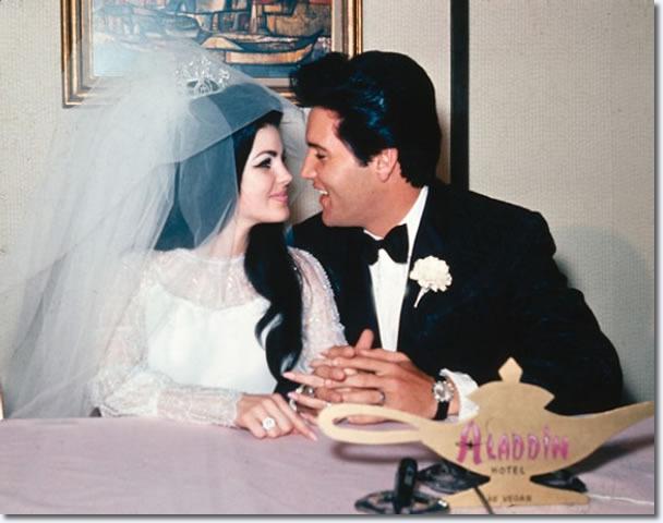 Elvis Presley marries Priscilla