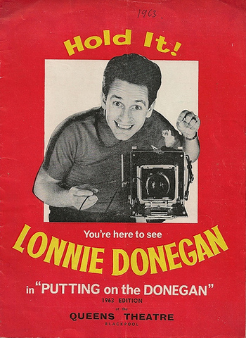 Lonnie Donegan in the US Charts