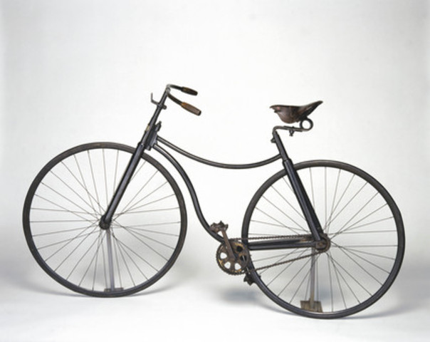 1890's Bicycle Fad of the Gilded Age