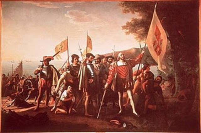 Llegada de Pedro de Alvarado