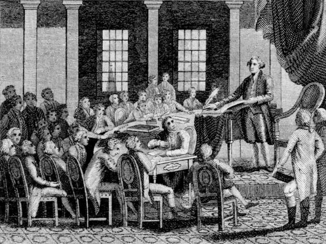 an analysis of the constitutional convention This particular page takes a speech by ben franklin and analyzes the way he uses ethos as a  analysis: ethos  constitutional convention on the.