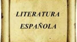 Literatura española. timeline