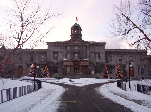 She went to McGill University.