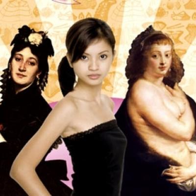 schoonheidsidealen door de jaren heen timeline