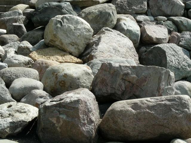 First rocks