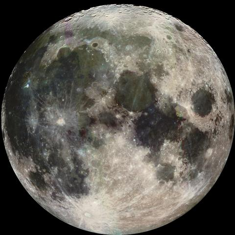 Impact that formed the Earth's moon