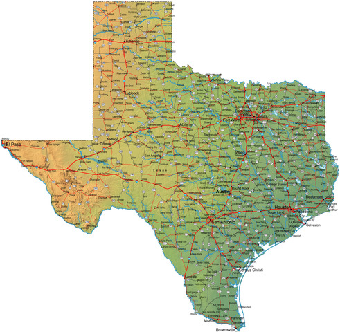 State of Texas founded