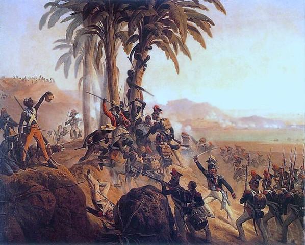 Haiti wins freedom from France
