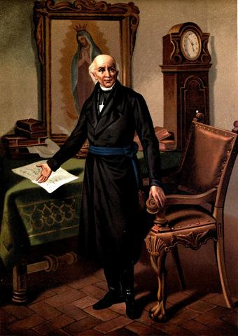 Padre Hidalgo calls for Mexican Independence