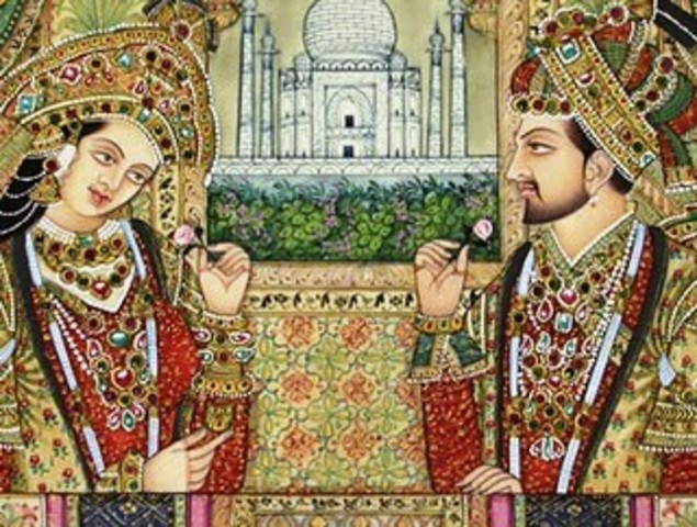 WSR 12 Shah Jahan timeline | Timetoast timelines
