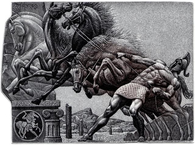 The Twelve Labors of Hercules (7-9)