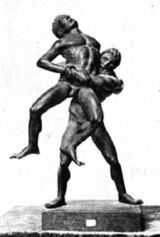 Antaeus, the Wrestling Giant