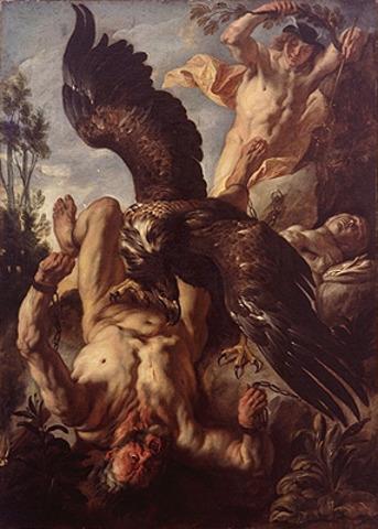 Hercules Saves Prometheus