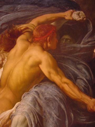 Admetus' Wife and Hercules