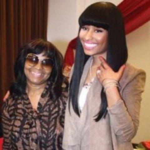 nicki and her mother