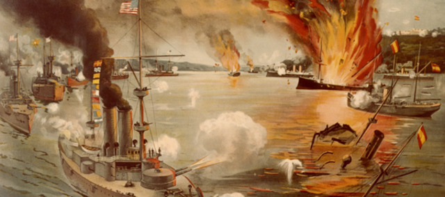 First Action of Spanish-American War: Manila Bay