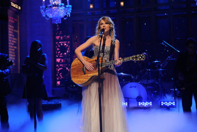 Taylor was the host on Saturday Night Live