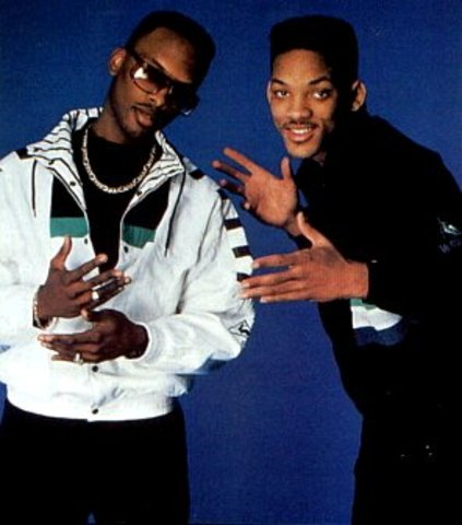 Earned the name Prince and began rapping with DJ Jazzy Jeff.