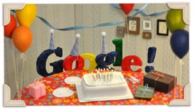 Gooooooooooooogle faz 13 anos