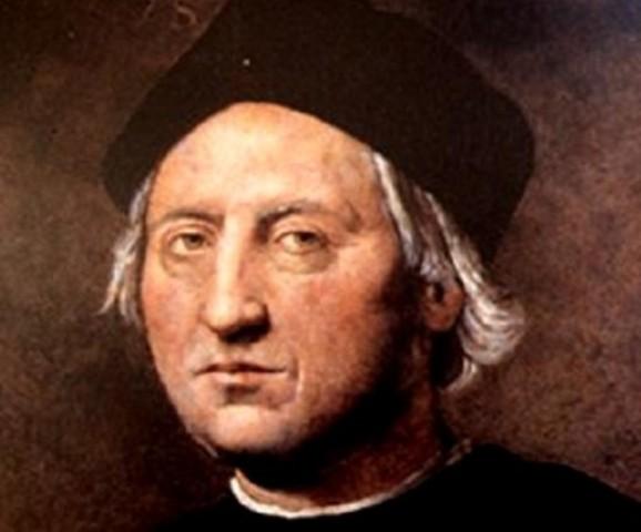 Columbus discovers America