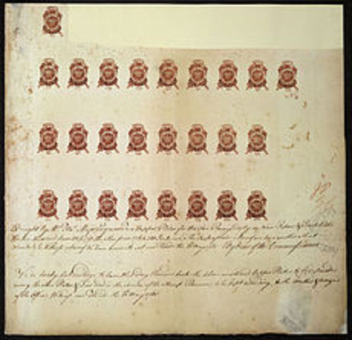 Stamp Act 1765 (continued)