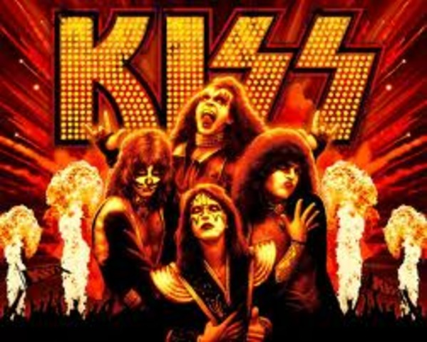 Kiss becomes a big hit.
