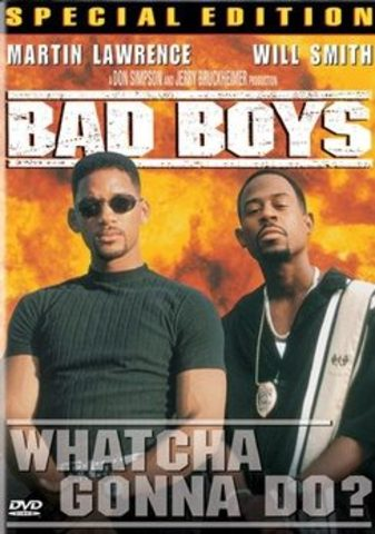 Starred in Bad Boys with Martin Lawrence which became a box-office smash hit