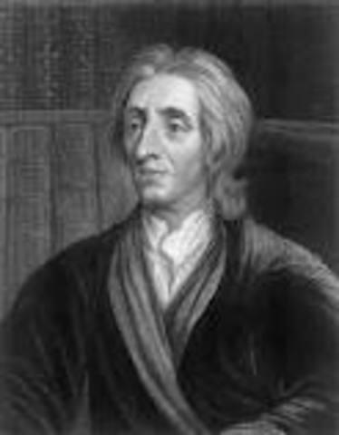 John Locke is born in England.