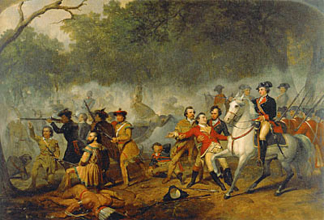 The French and Indian War continued