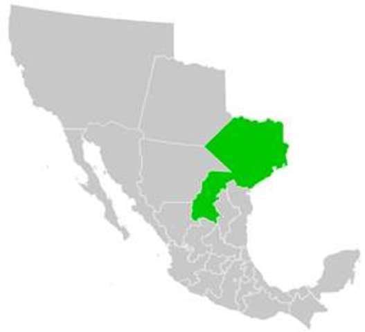 Coahuila y Tejas