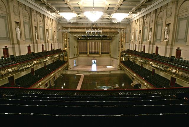 Boston's Symphony Hall