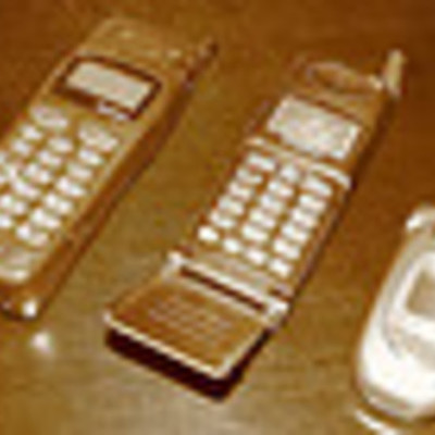 Cells for mobile phone timeline