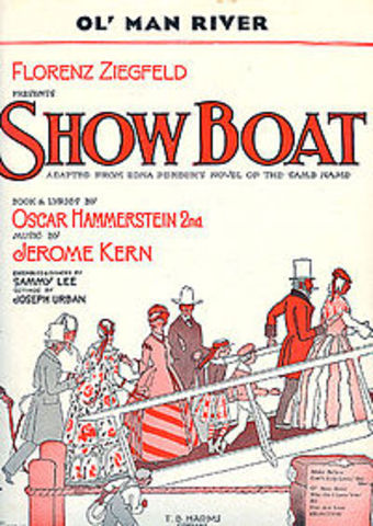 "Hammerstein- Opening of ""Show Boat"""