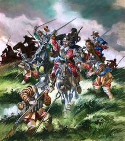 The Battle of Edge Hill