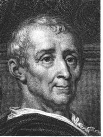 """Montesquieu publishes """"The Sprirt of the Laws"""""""