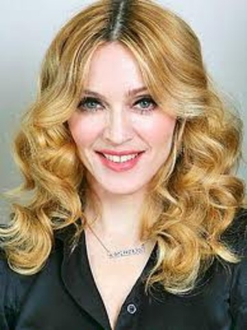 "Madonna Comes Out With Her Single ""Lucky Star"""