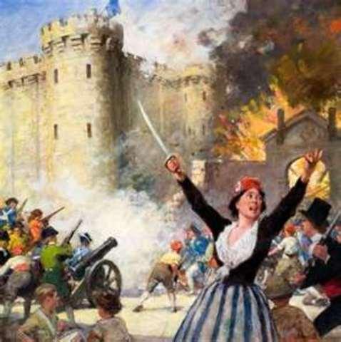 The Bastille is Stormed