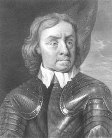 Death of Cromwell