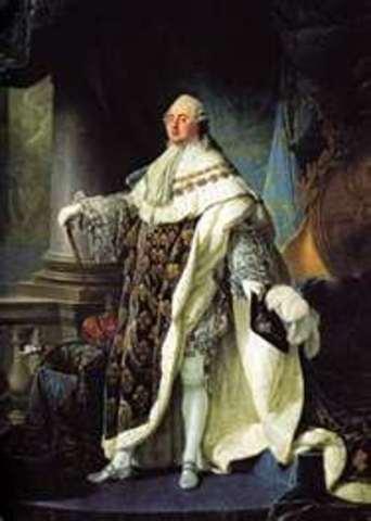 King Louis the xvi
