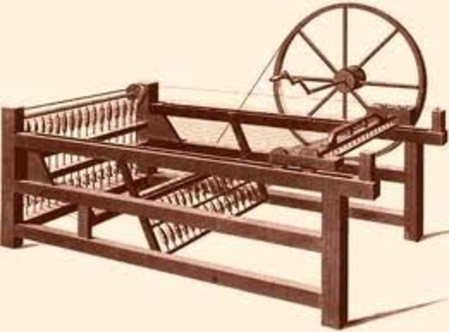 James Hargreaves' Spinning Jenny