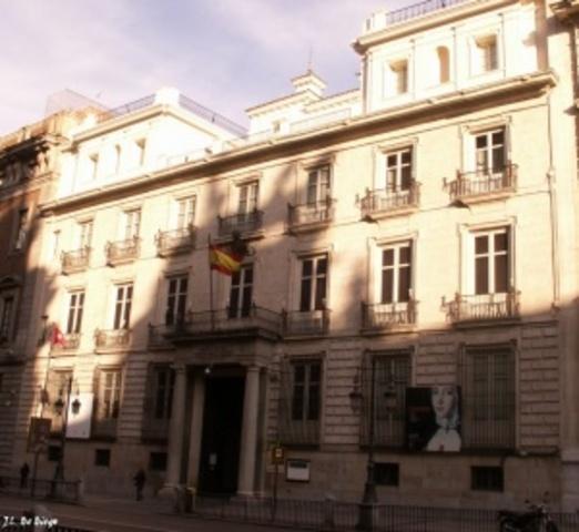 Real Academia de las bellas artes de San Fernando