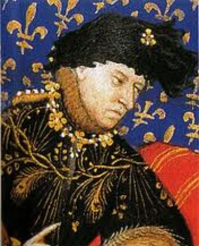 Charles VI dies